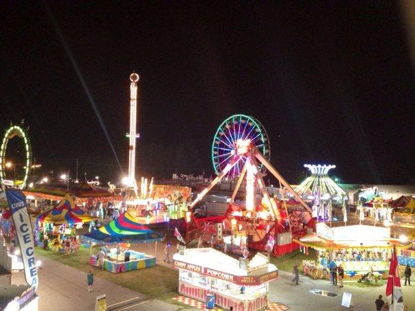 walworth county fair night